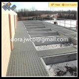 Professional Grating Manufacturer Hot DIP Galvanized Platform Steel Bar Grating