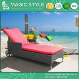 Hot Sale Promotion Sun Lounge Rattan Sunlounger Wicker Daybed Patio Sunbed Beach Sunlounger Deck Lounge