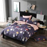 Disperse Print Polyester Microfiber Quilt Cover