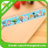 Cartoon Logo Printed on The Plastic Ruler (SLF-RR012)