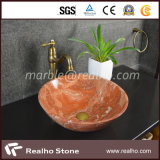 Polished Marble Wash-Basin for Home Decoration
