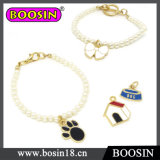 Wholesale Pearl Beads Bracelet with Paw Charm