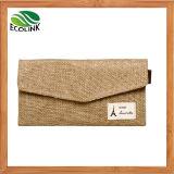 Cotton/ Linen Coin Purse Jute Card Bag