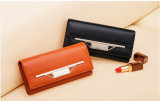 Newest Women Fashion Money/Coin/Card Wallet with Metal Bar