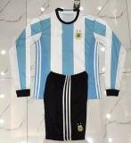2016 2017 Season Argentina Long Sleeve Soccer Kits