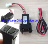 2.1A/1A Dual USB Power Socket for Smartphone iPad iPhone, Quick Charger for Toyota (For Toyota)