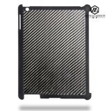 Factory Directly Selling Carbon Fiber Rubberized PC Plastic Case for Apple iPad 2 3 4