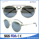 New Plastic Double Bridge Stainless Metal Avaitor Sunglasses
