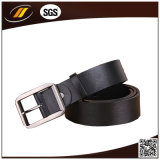 High Quality Cow Leather Belt with Rope Stitching (HJ15001)