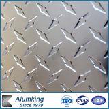 Diamond Checkered Aluminium Plate 5052/5005 for Electrical