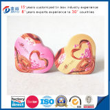 Metal Heart Shaped Candy Box with Foam