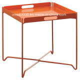 Metal Tray Table Portable and Foldable Table with CE (G-TT03)