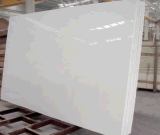 China Artifitial Stone White Microcrystalline Stone Tile