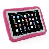 "Child Tablet PC M755 Quad Core 7"" 1024*600 512MB RAM 8GB ROM Android 5.1 OS Tablet PC Pink Color"