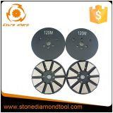 Concrete Diamonds Metal Floor Grinding Pads