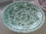 Chinese Antique Reproduction Fish Plate