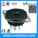 Round Type 8 Pins Bakelite Electrical Automotive Relay Socket/Relay Base
