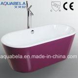 Cupc Approved Ellipse Modern Style Acrylic Bath Tub (JL607)