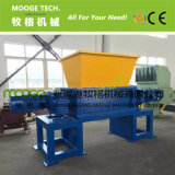 Waste plastic paper double Shaft Shredder Machine