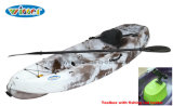 Winner Hot Selling Single Plastic Fishing Kayak