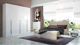 Comfort Eldridge 6-Door Bedroom Set in White Gloss (HF-54ZP2)