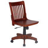 Antique Restaurant Dining Wooden Bar Chair with Back (FS-WB606)