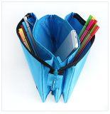 Simple Polyester Zipper Pencil Bag