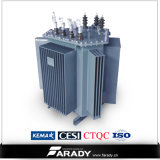 Three Phase Oil Immersed 50Hz/60Hz Low Loss Wounded Core Transformer 250 kVA