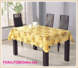 PVC Printed Tablecloth with Nonwoven Backing