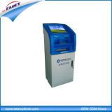 Self Service Bank Card Payment Kiosk with Card Reader, Barcode Scanner