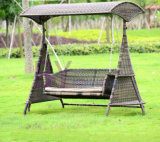 Wholesale Simple Fashionable PE Rattan Garden Leisure Swing