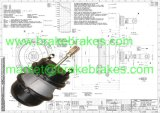 Spring Brake Chamber T20/24dd for Truck Spare Parts