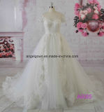 2016 Puffy A-Line Wedding Dress Bridal Gown Guangzhou Factory