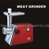 Hot-Selling Electric Meat Grinder with Stainless Steel Cutting Blade, 1200W