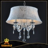 New Fashion Design Lampshade Crystal Chandelier (9226-4)