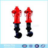 Outdoor Cast Iron Fire Hydrant with elbow
