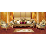 Wood Fabric Sofa for Living Room Furniture (962A)