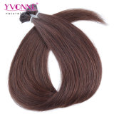 Color #2 Brazilian Hair Straight I Tip Human Hair Extensions