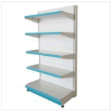 European Style Metal Supermarket Shelf, Steel Gondola Shelving