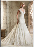 2016 Lace Beaded Ball Bridal Wedding Dresses Wd2785