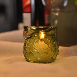 Colored Material Luxury Candle Holders