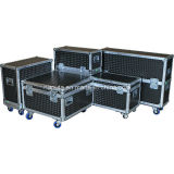 Custom Aluminum Flight Road Cases for DJ Equipment (HF-1300)