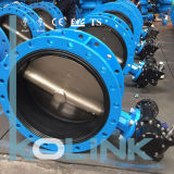 Centerline Butterfly Valve Flanged Type Ci Di Body Resilient Seated