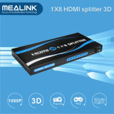 1X8 HDMI V1.3 Splitter Support 3D, 1080P