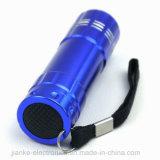 9 LED Aluminum Promotional LED Flashlight (4080)