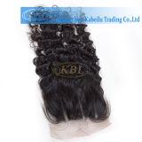 Brazilian 3parts Lace Closure Curly