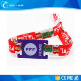 Colourful 13.56MHz Ultralight EV1 Soft PVC Disposable RFID Wristbands