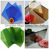 Paint Coated Glass with Various Colors
