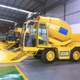 3 Cubic Meter Self-Loading Mobile Concrete Mixers From China