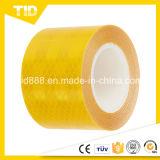 Yellow Reflective Vehicle Warning Sticker